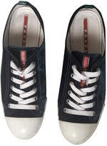 Prada Other Velvet Trainers