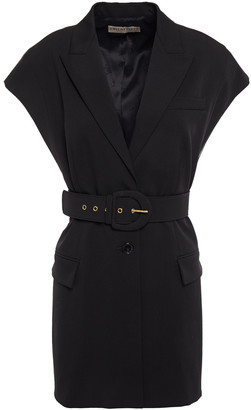 Emilio Pucci Belted Wool-blend Twill Vest
