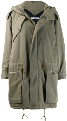 Katharine Hamnett Mid-Length Parka Coat