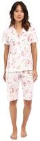 Lauren Ralph Lauren Knit Bermuda PJ Set