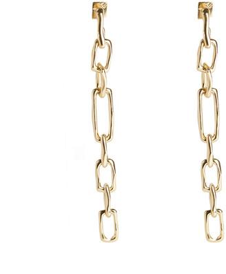 Alexis Bittar Long Chain Link Post Earring