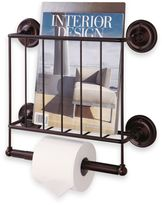 Bed Bath & Beyond Oil Rubbed Wall Mount Magazine Rack in Bronze