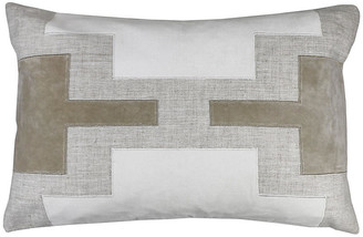 The Piper Collection Lois 16x24 Pillow - Oatmeal