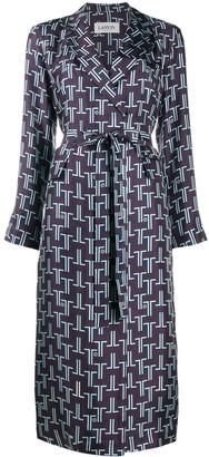 Lanvin Printed Shirt Dress