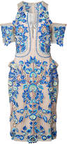 Thurley embroidered midi dress