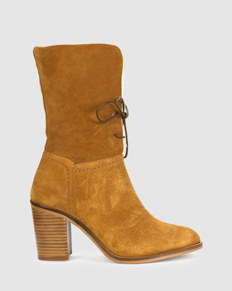 EOS Women's Brown Lace-up Boots - Nomi - Size One Size, 37 at The Iconic