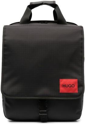 HUGO BOSS Logo Patch Backpack