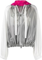 Moncler colour-block hooded jacket