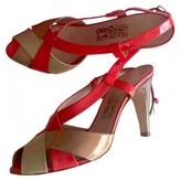 Salvatore Ferragamo Multicolour Patent leather Sandals
