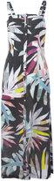 Mara Hoffman Sheath midi dress - women - Linen/Flax - 0