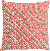 """Pine Cone Hill Pillow with Rope Applique, 20""""Sq."""