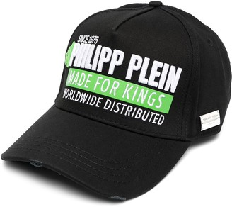 Philipp Plein Made for Kings distressed cap