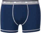 Dolce & Gabbana branded stitch boxers - men - Cotton/Spandex/Elastane - 5