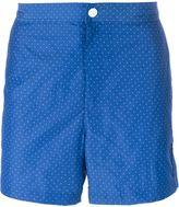 Michael Kors pin dot swim shorts