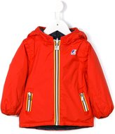 K Way Kids reversible 'Claude' raincoat