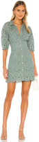 Rebecca Taylor Short Sleeve Mina Eyelet Dress