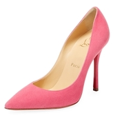 Christian Louboutin Decoltish Suede High Heel Pump