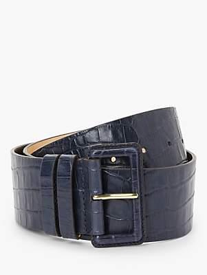 Boden Wide Leather Belt