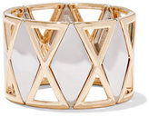 New York & Co. Mixed-Metal Stretch Bracelet