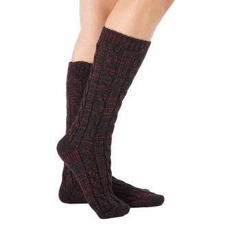 Aesy Women's Knit Boot Socks
