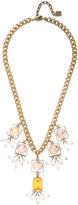 Dannijo Jolie Brass Bib Necklace