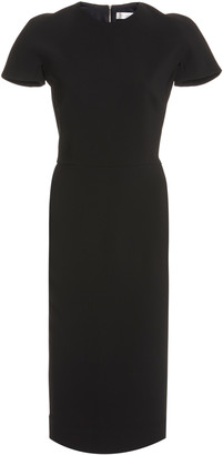 Victoria Beckham Crepe Midi Dress