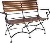 Furniture Design House Grand Café 2-Seat Folding Arm-Bench
