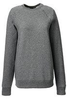 Lands' End Women's Crew Sweatshirt-Red
