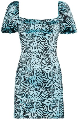 De La Vali Koko tiger print dress