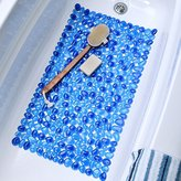 Pebble Bath Mat (Blue)
