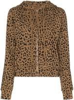 Nili Lotan Callie leopard-print hoodie