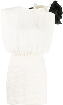 Magda Butrym Ruffled Fitted Dress