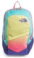 The North Face Girl's 'Double Time' Backpack - Blue