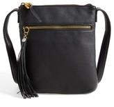 Hobo 'Sarah' Leather Crossbody Bag - Black