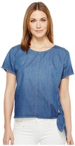 Calvin Klein Jeans Raw Edge Denim T-Shirt Women's T Shirt