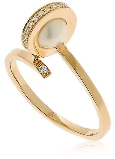 Delfina Delettrez Seal Pearl Ring