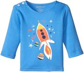 Zutano Blast Off Screen T-Shirt (Baby) - Periwinkle - 18 Months