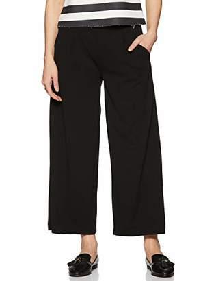 Jacqueline De Yong NOS Women's JDYGEGGO Ancle Pant JRS NOOS Trousers, Detail:W Black Buttons, 14 (Size: L)