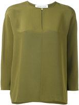 Gianluca Capannolo round neck blouse - women - Silk - 42