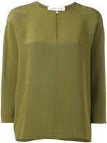 Gianluca Capannolo round neck blouse - women - Silk - 44