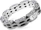 King Baby Studio Men's Rotor Link Bracelet in Sterling Silver