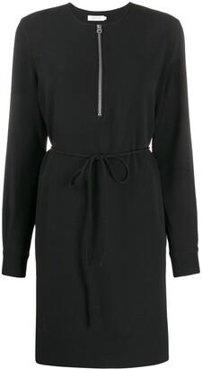 Calvin Klein Long-Sleeved Midi Dress