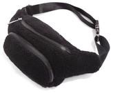Topshop Benny Borg Belt Bag - Black