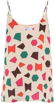 Racil Printed crepe de chine blouse