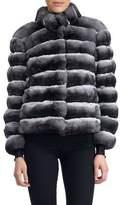 Gorski Horizontal Chinchilla Jacket