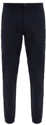 A.P.C. Classique Straight-leg Cotton-twill Chinos - Mens - Navy