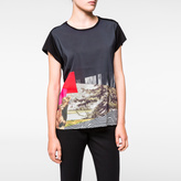 Paul Smith Women's T-Shirt With 'Photographic Montage' Print