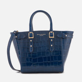 Aspinal of London Women's Marylebone Mini Tote Bag - Navy