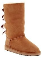 UGG Bailey Bow Tall Genuine Sheepskin Lined Boot (Big Kid)