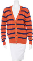 Markus Lupfer Striped Wool Cardigan